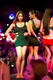 性别旅游业在泰国 免版税库存照片