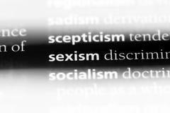 性别歧视 免版税库存照片
