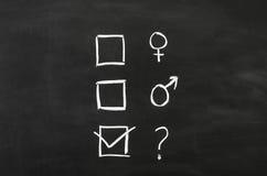 性别的 免版税库存照片