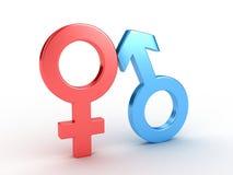 性别符号 免版税库存图片