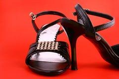 性别鞋子 图库摄影
