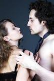 性感成人的夫妇 免版税图库摄影