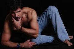 性感的人 免版税库存照片