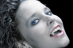 性感的吸血鬼 图库摄影