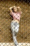 性感的囚犯 免版税库存图片