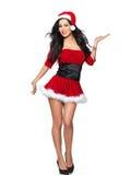 性感的圣诞老人 免版税图库摄影