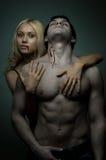 性感的夫妇 图库摄影