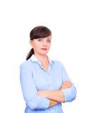 性感的女实业家 免版税库存照片