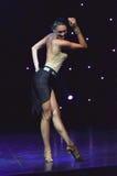 性感的女性舞蹈家 库存图片