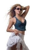 性感的妇女年轻人 库存图片