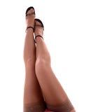 性感的妇女腿 免版税图库摄影