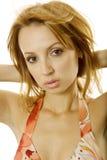 性感的妇女年轻人 免版税库存照片