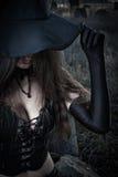 性感的巫婆 免版税图库摄影