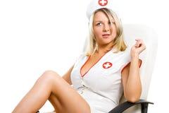 性感的护士 免版税图库摄影