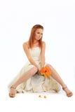 性感的新娘 免版税库存照片