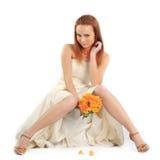 性感的新娘 免版税图库摄影