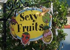 性感的果子 免版税库存图片