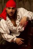 性感的海盗 免版税图库摄影