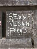 性感的素食主义者食物 免版税图库摄影