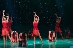 性感的舞蹈拉丁舞蹈 库存照片
