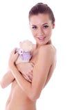 性感的裸体模特儿 免版税图库摄影