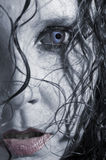 性感的vampiress 免版税库存图片