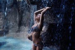 性感美丽的女孩 免版税图库摄影