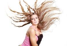 性感舞蹈演员的女孩 图库摄影
