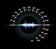 性能声音 向量例证