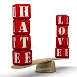 怨恨或爱 皇族释放例证