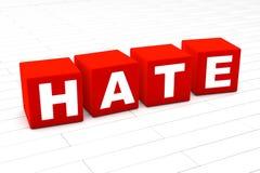 怨恨词 向量例证