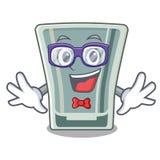 怪杰在动画片形状的小玻璃 皇族释放例证