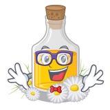 怪杰在动画片形状的春黄菊油 皇族释放例证