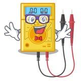 怪杰数字式多用电表隔绝与字符 向量例证