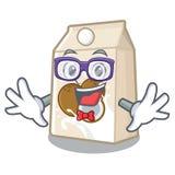怪杰椰奶隔绝与字符 皇族释放例证