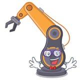 怪杰玩具工业机器人手a cratoon 库存例证