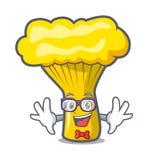 怪杰黄蘑菇蘑菇字符动画片 向量例证
