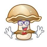 怪杰portobello蘑菇字符动画片 库存例证