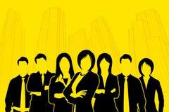 总公司人员 免版税图库摄影