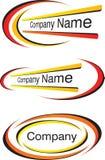 总公司徽标模板 向量例证