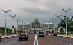 总理办公室在布城,马来西亚 库存照片