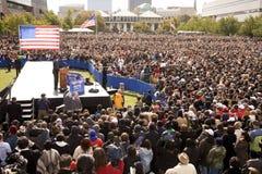总统候选人Barack Obama 免版税图库摄影