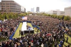 总统候选人Barack Obama 图库摄影