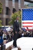 总统候选人Barack Obama 库存图片