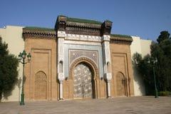 总统卡萨布兰卡的宫殿 免版税库存照片
