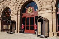 总统宫殿 索非亚是Bu资本和大城市 免版税库存照片