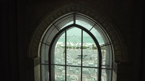 总统旅馆酋长管辖区宫殿内部阿布扎比股票英尺长度录影的 股票录像