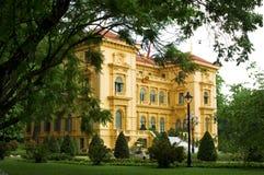 总统河内的宫殿 免版税图库摄影
