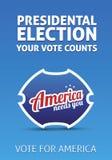 总统选举 免版税库存照片