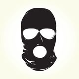 恐怖分子面具 免版税库存图片